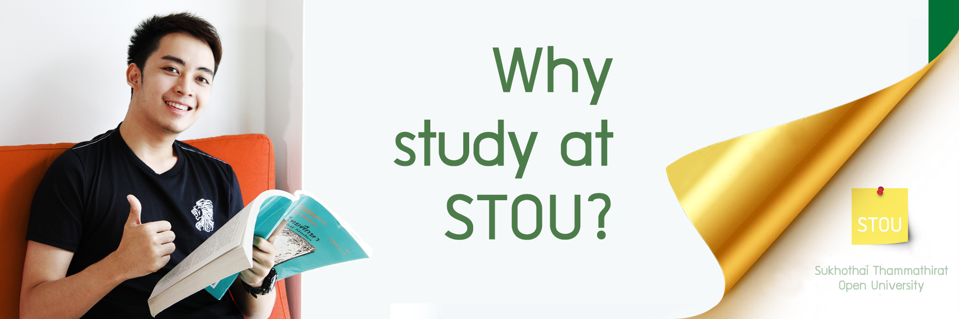 Why study at STOU?