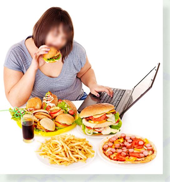 ผลการค้นหารูปภาพสำหรับ การรับประทานอาหารที่ผิดหลักธรรมชาติ